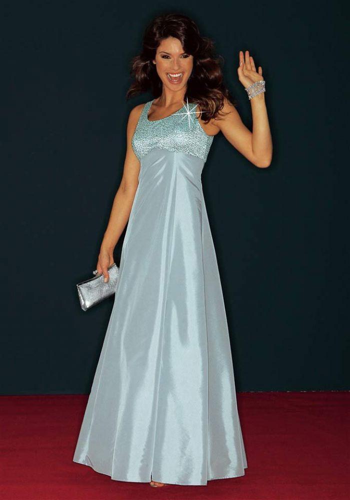 Abendkleid mit Jacke silbergrau   Abendmode   Outlet Mode-Shop