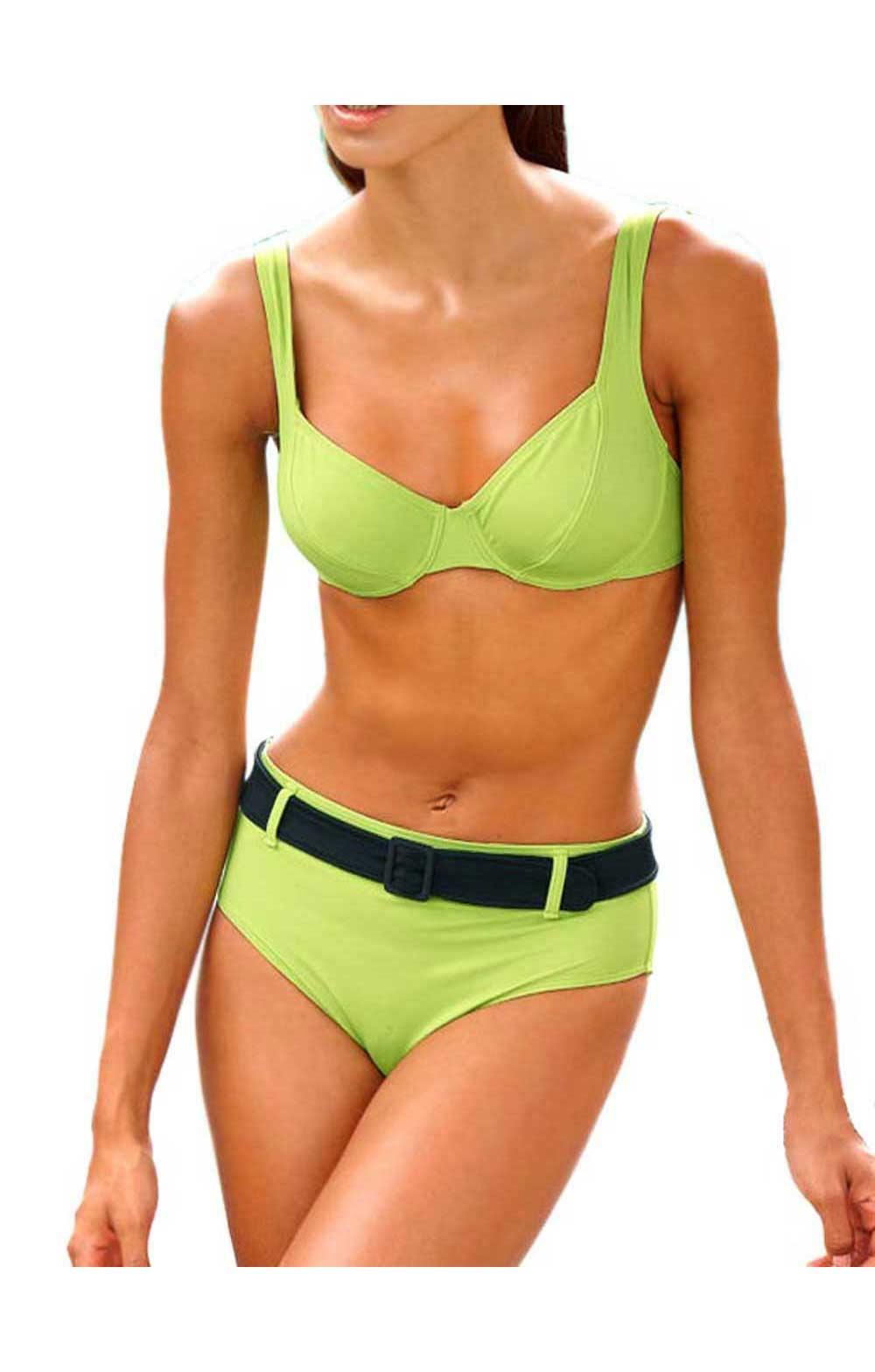 Body shaping bikinis