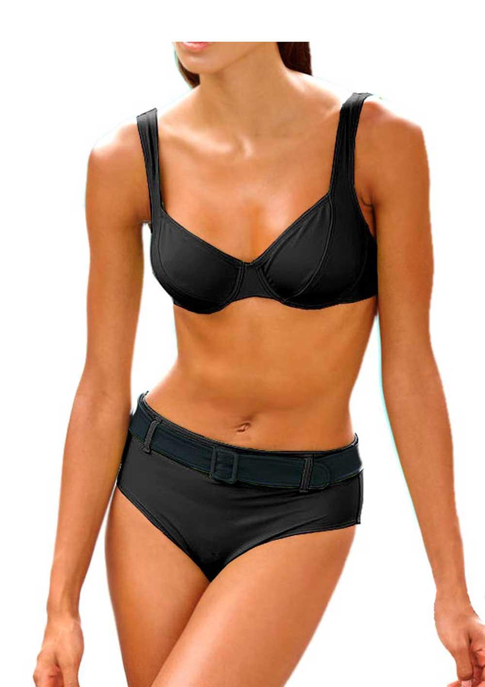 body shaping bikini schwarz schn ppchen outlet mode shop. Black Bedroom Furniture Sets. Home Design Ideas