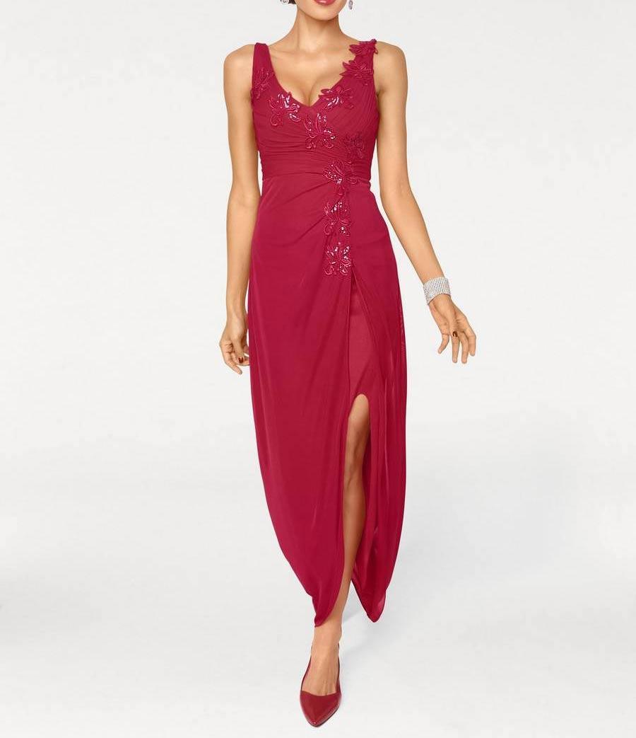Designer Abendkleid Rot Abendmode Outlet Mode Shop