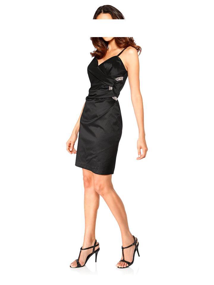 Designer-Cocktailkleid schwarz | Abendmode | Outlet Mode-Shop