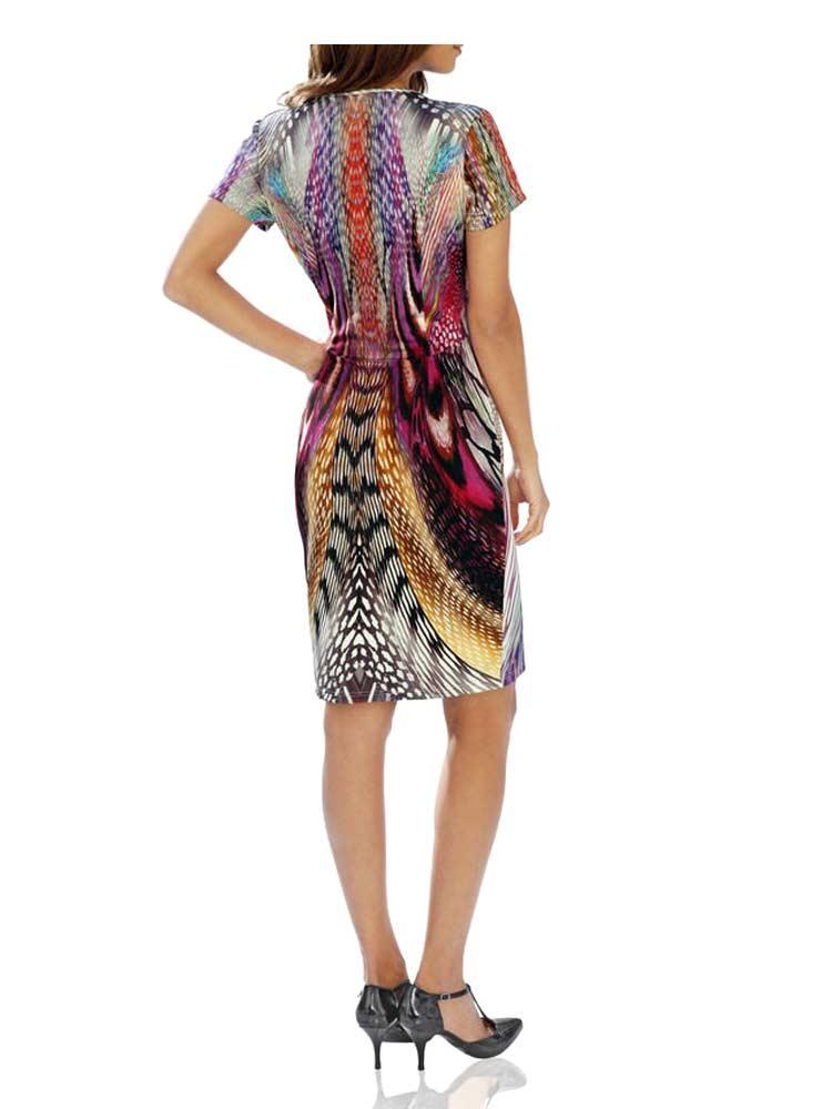 Designer-Kleid bunt | Kleider | Outlet Mode-Shop