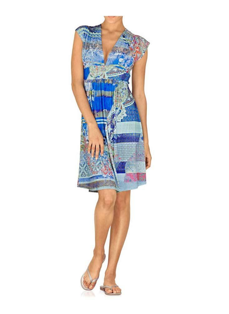 4c4be3b6c3bf Designer-Kleid bunt   Kleider   Outlet Mode-Shop