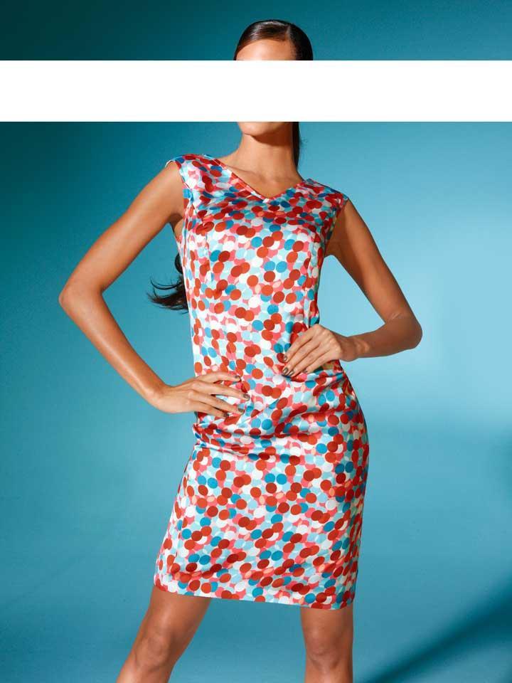 Designer-Kleid bunt Größe 40 | Kleider | Outlet Mode-Shop