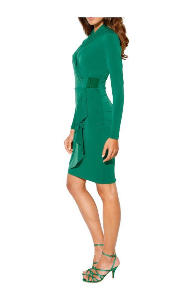 Designer-Kleid grün Größe 44 | Kleider | Outlet Mode-Shop