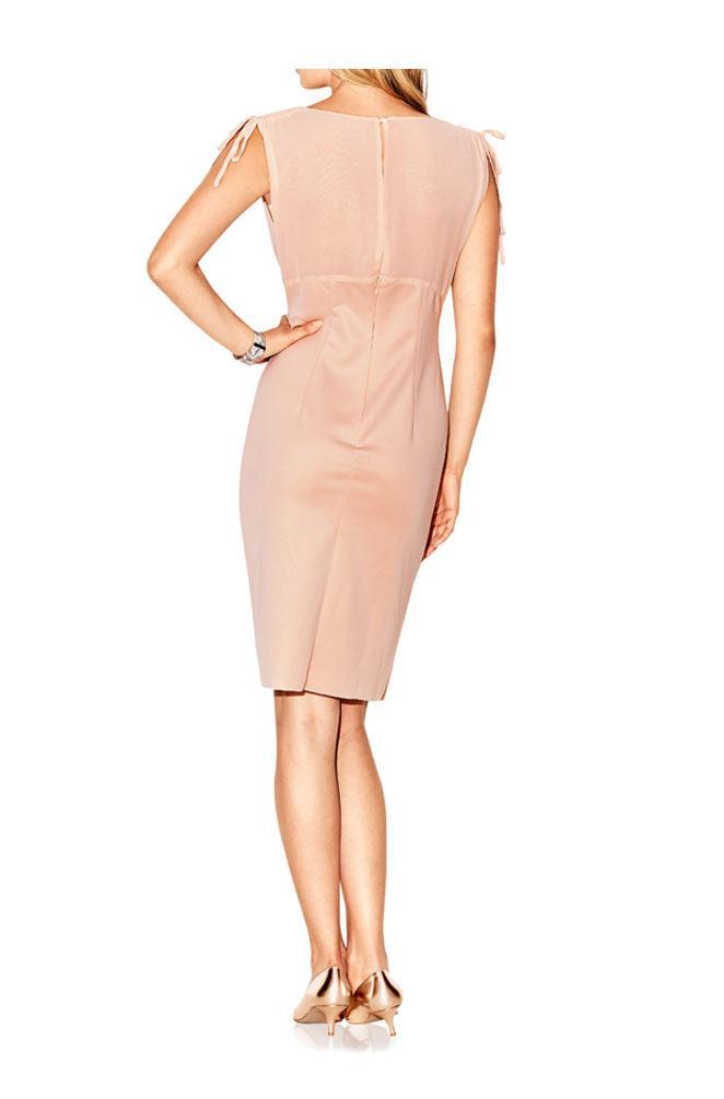 Designer-Kleid rosé Gr. 46   Kleider   Outlet Mode-Shop