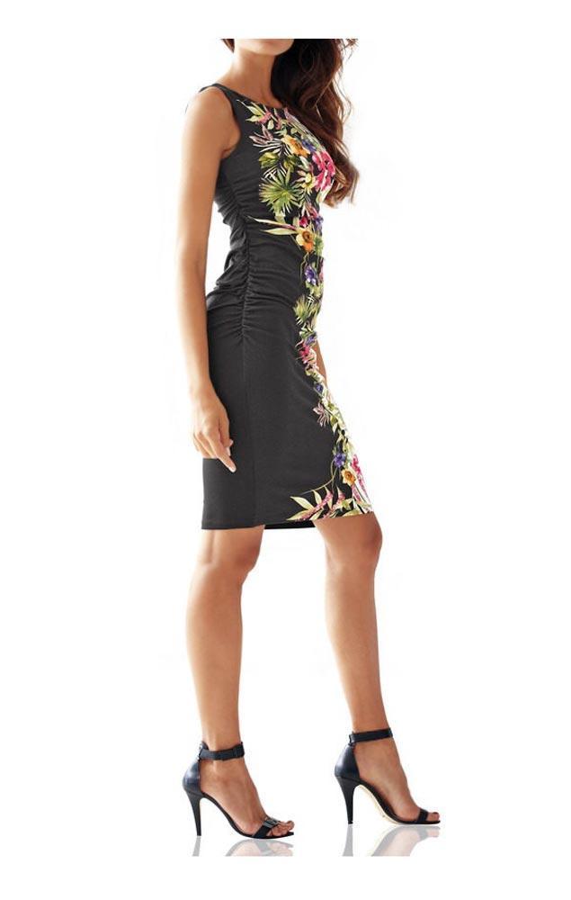 Designer kleid bunt