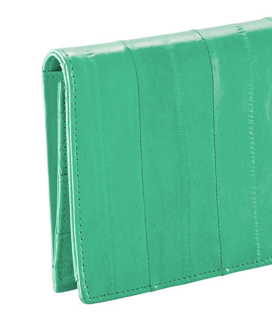 409e669b0123f Designer-Portemonnaie smaragd