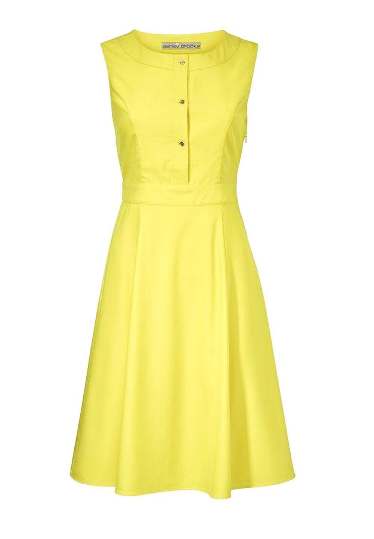 Designer-Prinzesskleid gelb | Kleider | Outlet Mode-Shop