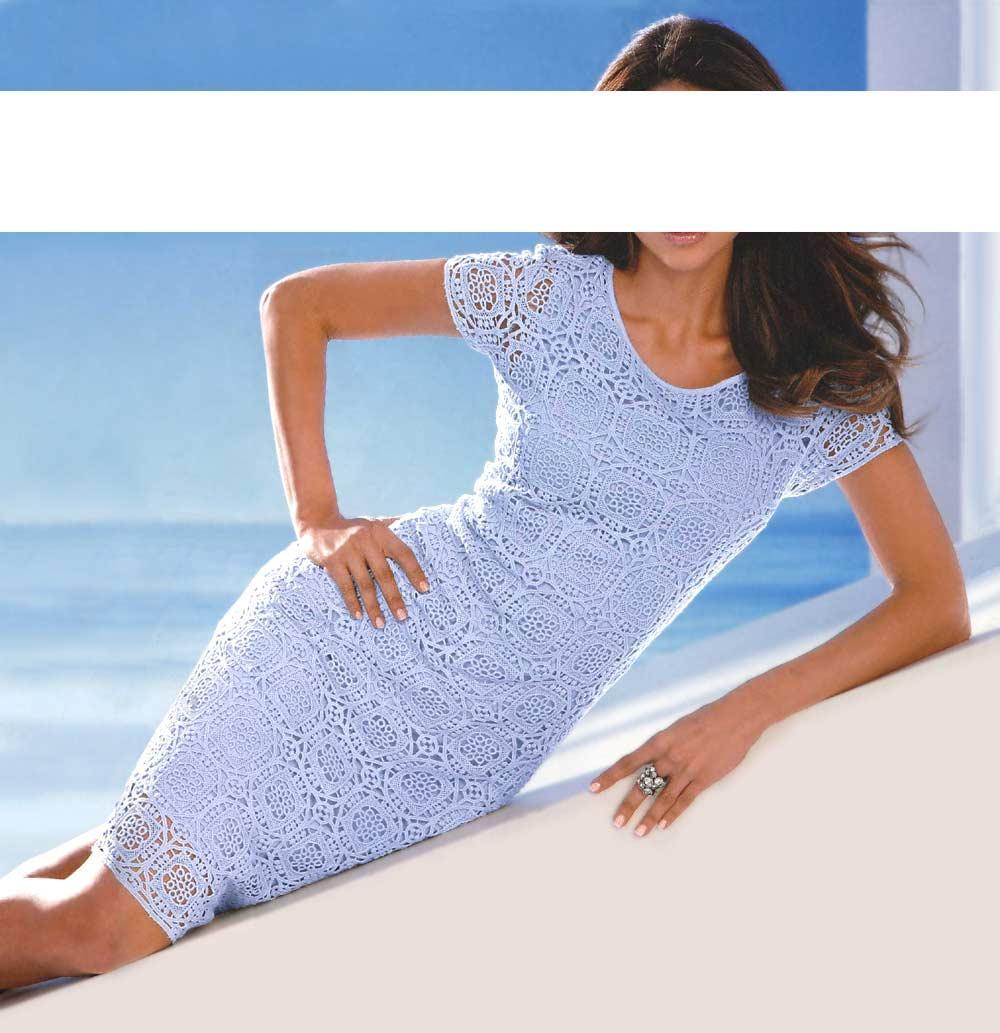 Blaues Kleid: Hellblaues & Dunkelblaues Kleid im Online Shop