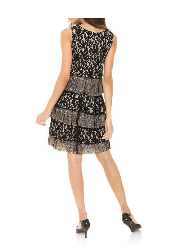 designer-spitzenkleid schwarz gr. 46 | kleider | outlet