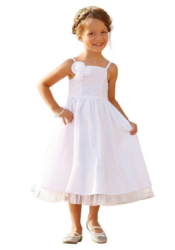Festliches Kinder-Kleid weiß   Neuheiten   Outlet Mode-Shop