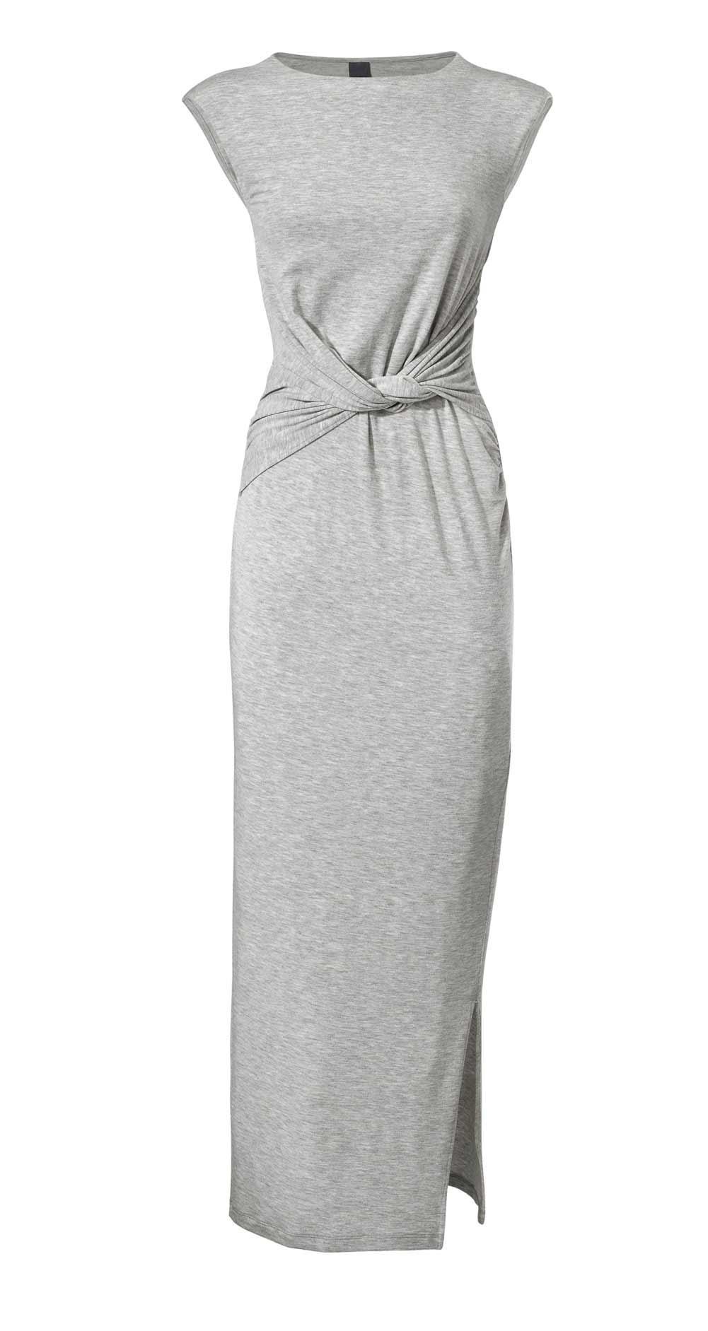 Jersey-Kleid grau-melange | Kleider | Outlet Mode-Shop