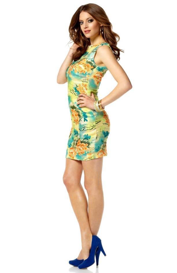 Kleid bunt | Kleider | Outlet Mode-Shop