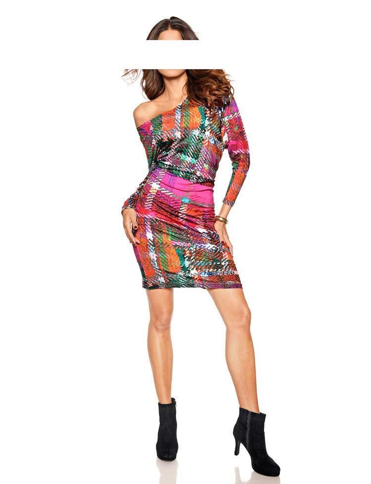 Kleid bunt Größe 44 | Kleider | Outlet Mode-Shop