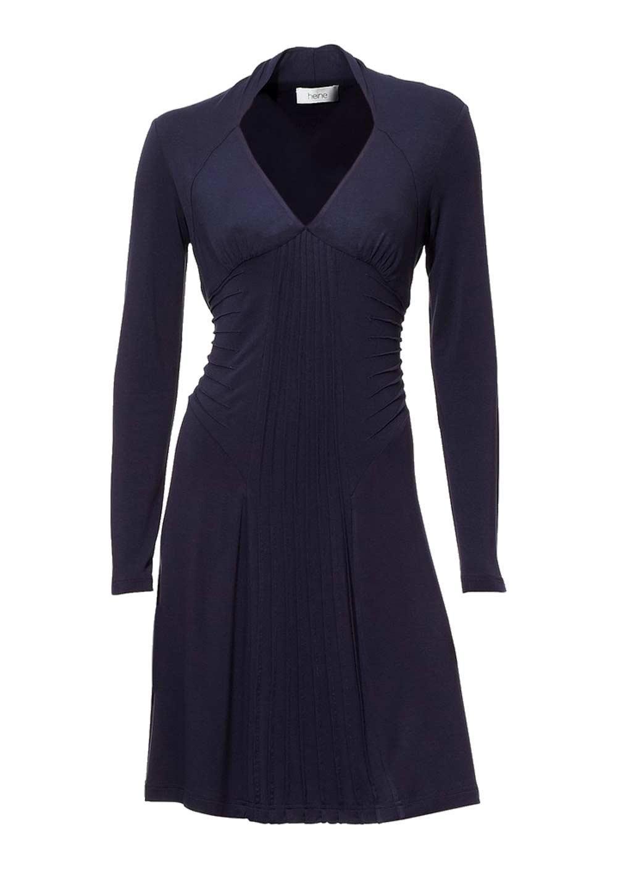 Kleid dunkelblau 44   Trendige Kleider für die Saison 2018