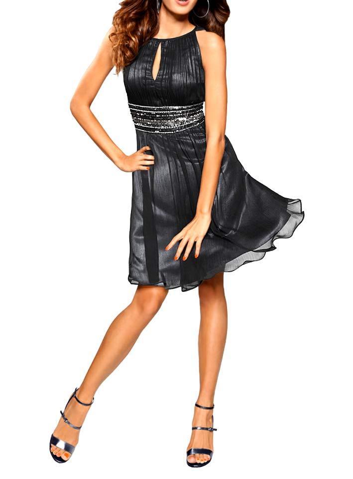Kleid mit Pailletten schwarz Größe 44 | Kleider | Outlet ...