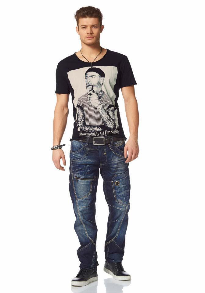 Marken-Herren-Jeans blue used   Herren- Kinder-Mode   Outlet Mode-Shop a702b7dbf4