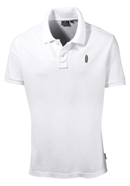 new styles a75a2 aff64 Marken-Herren-Poloshirt weiß | Herren-/Kinder-Mode | Outlet ...