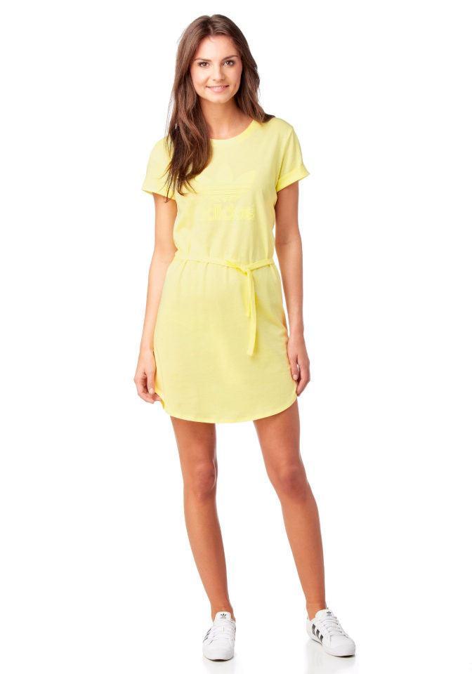 Marken-Kleid gelb | Kleider | Outlet Mode-Shop