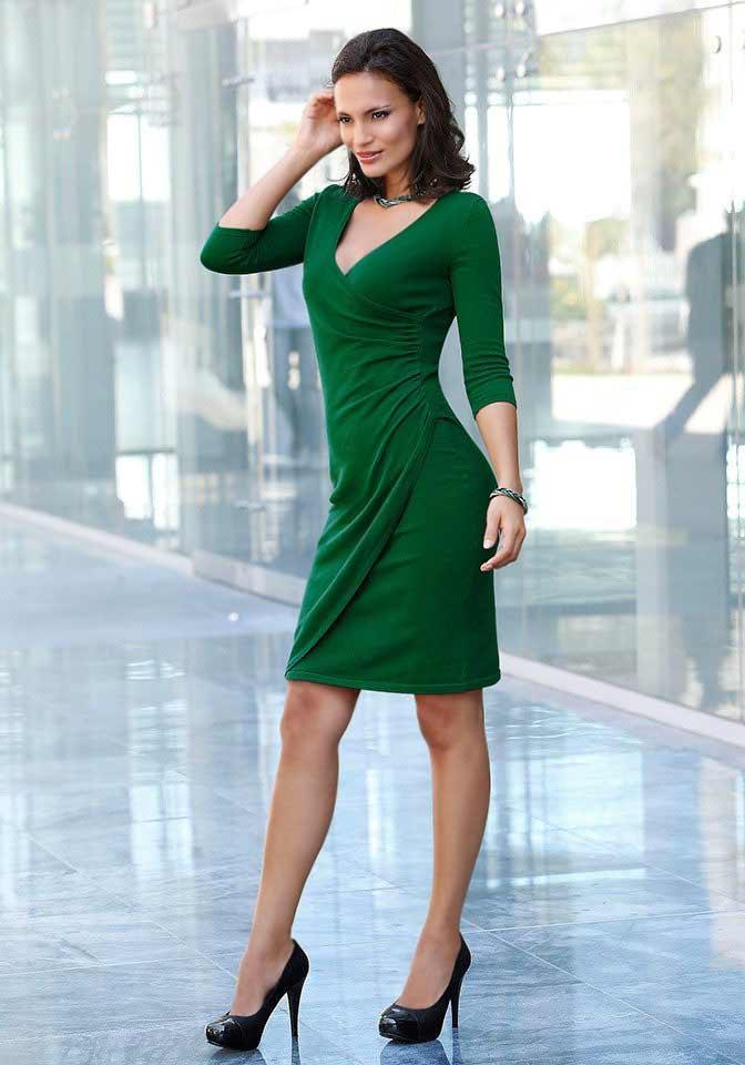 Фиоосеньвое Платье